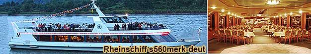 Weihnachtsfeier in Koblenz mit 1 Charterschiff 6 Stunden auf dem Rhein, für Gruppen von 50 bis 170 Personen