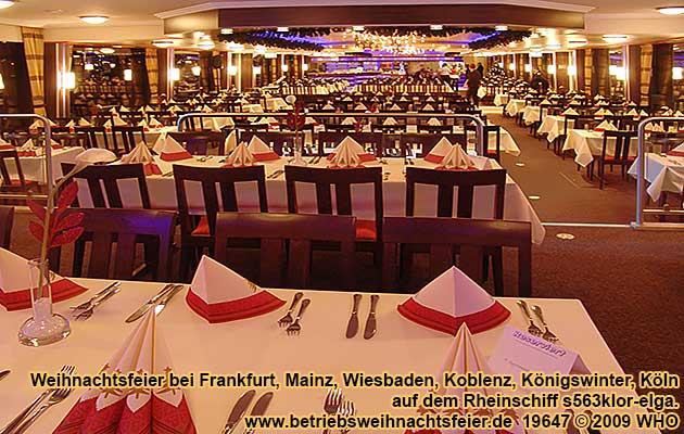Weihnachtsfeier Wiesbaden