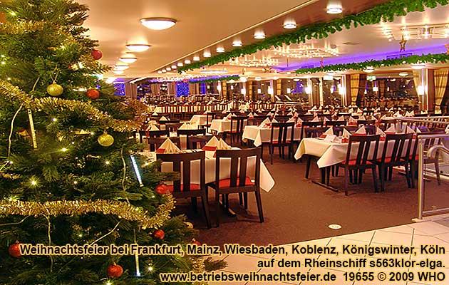 betriebsweihnachtsfeier weihnachtsfeier wiesbaden raum mainz, Einladung